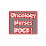 ¡La oncología cuida la roca! Tarjetas Postales