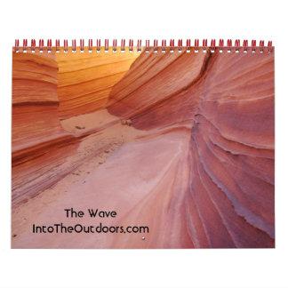 """La onda"" Arizona 2012 Calendario De Pared"