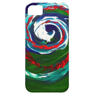 La onda espiral del infinito iPhone 5 carcasas