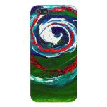 La onda espiral del infinito iPhone 5 fundas