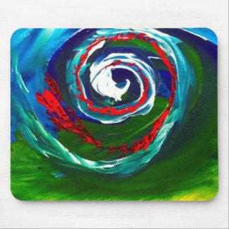 La onda espiral del infinito alfombrilla de raton