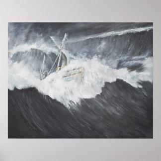 La onda gigantesca póster