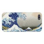 La onda grande de Kanagawa Katsushika Hokusa iPhone 5 Carcasas