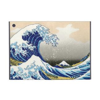 La onda grande de Kanagawa Katsushika Hokusai iPad Mini Protectores