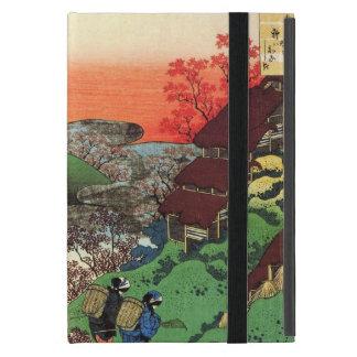 La onda grande de Kanagawa Katsushika Hokusai iPad Mini Fundas