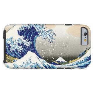 La onda grande de Kanagawa Katsushika Hokusai Funda Para iPhone 6 Tough