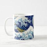 La onda grande de Kanagawa Katsushika Hokusai Taza