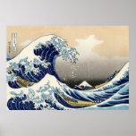 La onda grande del poster de Kanagawa