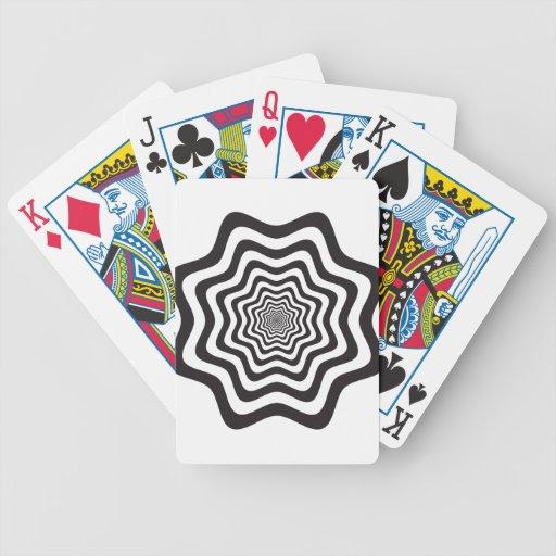 La onda negra y blanca protagoniza vol. 11 baraja de cartas