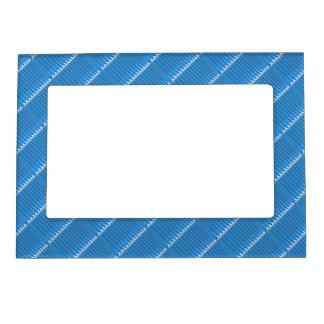 La opción azul de las tejas sombrea las fronteras marcos magneticos