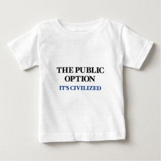 La opción pública t-shirt