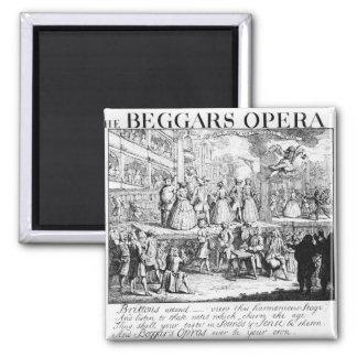 La ópera Burlesqued, 1728 del mendigo Imán Para Frigorifico