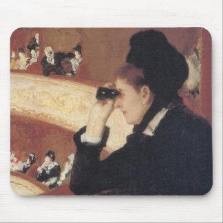 La ópera de Mary Cassatt, impresionismo del Tapete De Raton