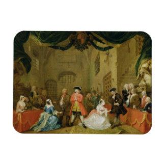 La ópera del mendigo, escena III, acto XI, 1729 (a Imán