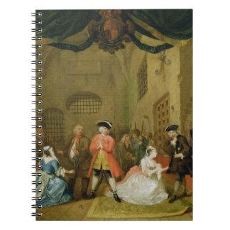 La ópera del mendigo, escena III, acto XI, 1729 (a Libretas Espirales