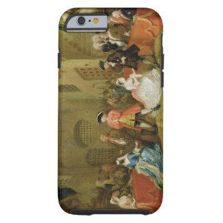 La ópera del mendigo, escena III, acto XI, 1729 Funda De iPhone 6 Tough