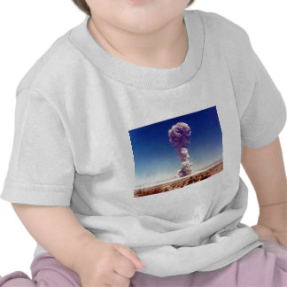 La operación de prueba de las armas nucleares camisetas