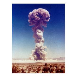 La operación de prueba de las armas nucleares Tipo Tarjeta Postal