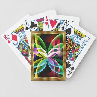 La opinión de Apop de la mariposa el jugar de tarj Barajas De Cartas