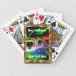 La opinión de Apop del amor el jugar de tarjetas o Barajas