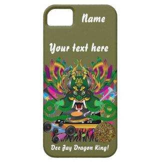 La opinión de D.J. Dragon rey carnaval hace Funda Para iPhone 5 Barely There