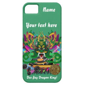 La opinión de D.J. Dragon rey carnaval hace Funda Para iPhone SE/5/5s
