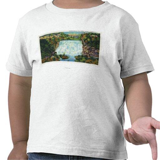 La opinión de la garganta de la cala de la caída,  camiseta