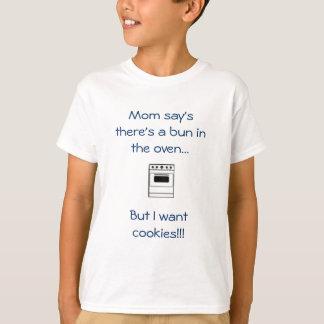 La opinión de la mamá allí es un bollo en el poleras