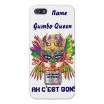 La opinión de la reina del Gumbo del carnaval hace iPhone 5 Protectores