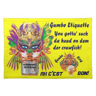 La opinión de la reina del Gumbo del carnaval hace Mantel