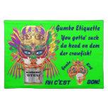 La opinión de la reina del Gumbo del carnaval hace Manteles