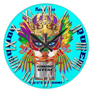 La opinión de la reina del Gumbo del carnaval hace Reloj Redondo Grande