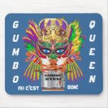 La opinión de la reina del Gumbo del festival hace Alfombrillas De Raton