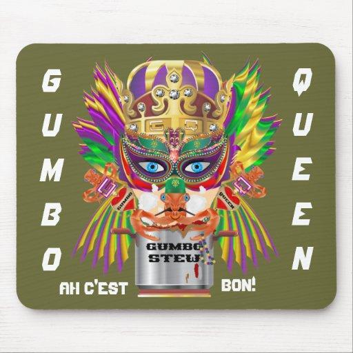 La opinión de la reina del Gumbo del festival hace Alfombrillas De Ratones