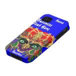 La opinión del Bacchus de la mitología del carnava Case-Mate iPhone 4 Carcasa