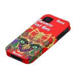La opinión del Bacchus de la mitología del carnava Vibe iPhone 4 Carcasa