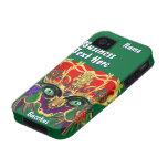 La opinión del Bacchus de la mitología del carnava Case-Mate iPhone 4 Carcasas