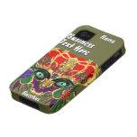 La opinión del Bacchus de la mitología del carnava iPhone 4 Fundas
