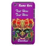 La opinión del Bacchus de la mitología del carnava Case-Mate iPod Touch Cárcasas