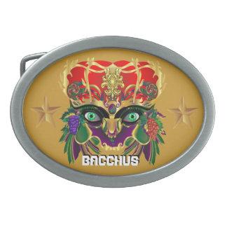 La opinión del Bacchus de la mitología del carnava Hebilla Cinturon