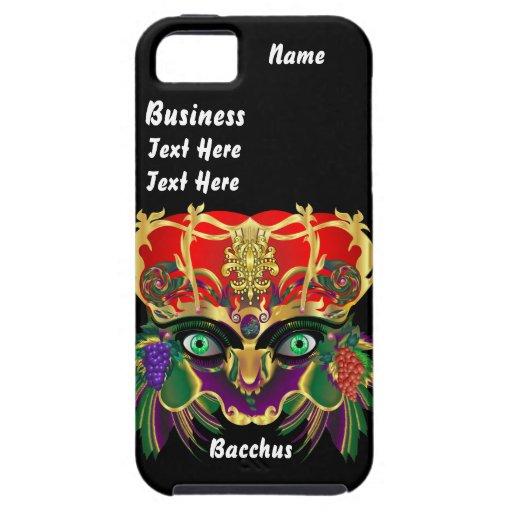 La opinión del Bacchus de la mitología del iPhone 5 Fundas