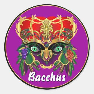 La opinión del Bacchus de la mitología del