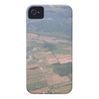 La opinión del birdseye del aeroplano tiró la caja Case-Mate iPhone 4 protectores