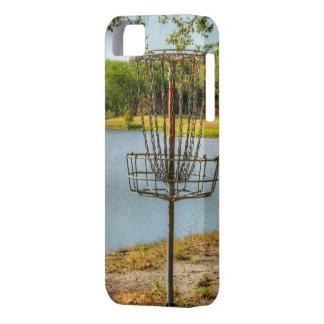 La opinión del golfista del disco iPhone 5 funda