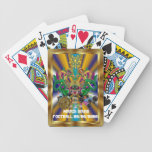 La opinión del rey del dragón del carnaval del baraja de cartas