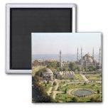 La opinión el sultán Ahmet Camii construyó 1609-16 Iman De Nevera