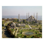La opinión el sultán Ahmet Camii construyó 1609-16 Impresiones