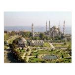 La opinión el sultán Ahmet Camii construyó 1609-16 Tarjeta Postal