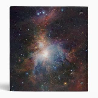 La opinión infrarroja de VISTA de la nebulosa de Carpeta 2,5 Cm