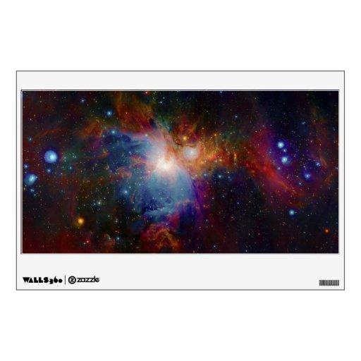 La opinión infrarroja de VISTA de la nebulosa de O